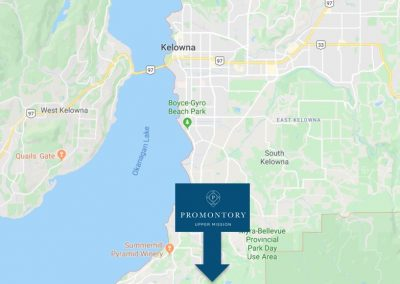 Promontory-Location-Map